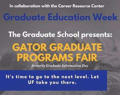 Gator Graduate Fair, October 31