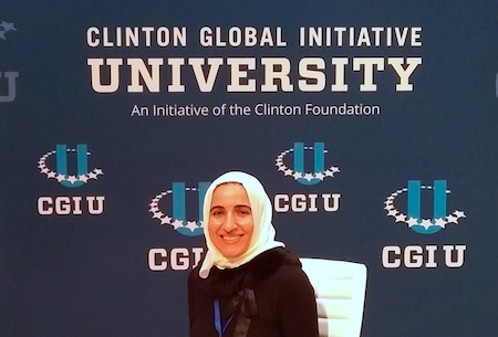 Ghadeer Dawwas at Clinton Global Initiative University
