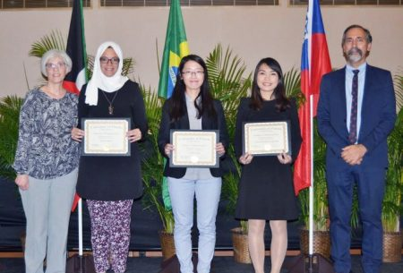 UF College of Pharmacy 2017 International Award Winners.