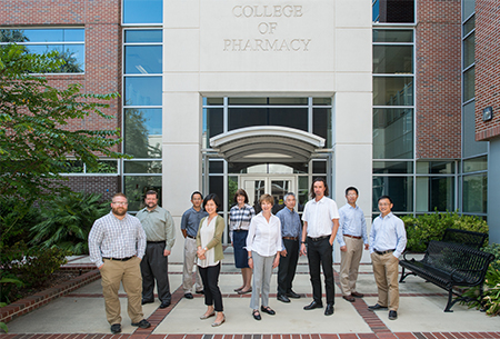 Ten federally-funded faculty from the department of Medicinal Chemistry